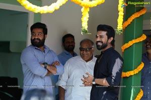 Ram Charan-NTR's RRR Movie Launch