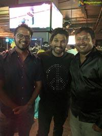 Allu Arjun Threw a Lavish Party For Team Taxiwala