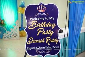 Devarsh Reddy's Birthday Bash