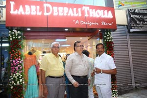 Label Deepali Tholia Designer Store Launch