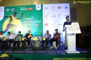 Freedom Hyderabad 10K Run 2018 Press Meet