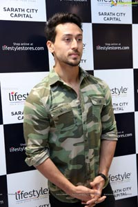 Tiger Shroff at Newly Launched Lifestyle Store