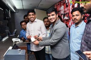 Arjun Suravaram at Asian Sridevi Mall Warangal