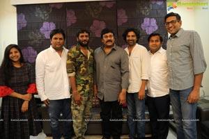 Megastar Chiranjeevi Appreciates George Reddy Team