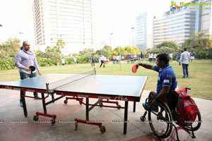 AMF Sporting Event Celebrities vs Para-athletes