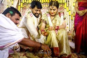 Archana and Jagadeesh wedding pics