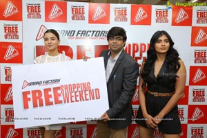 Brand Factory Announces 'Free Shopping Weekend'