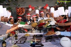 The Golkonda Hotel Cake Mixing Ceremony