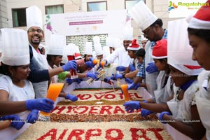 Cake Mixing at Novotel HYD Airport