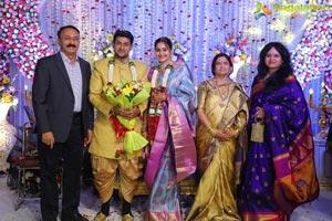 Kaushik Babu - Ratna Bhavya's Wedding Reception