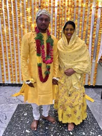 Sana's Son Anwar Ahmed Wedding Pics