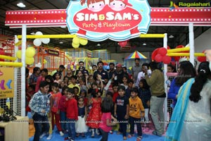 Sim & Sam's Party & Playtown Launch