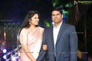 Prasanna Kumar Sindhura's Wedding Reception
