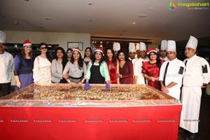 Synergy Group Cake Mixing Event at Taj Vivanta