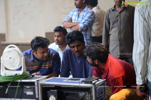 George Reddy Movie Working Stills