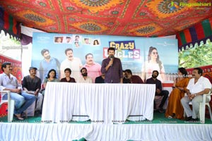 Crazy Uncles Movie Press Meet