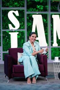 Rana Daggubati, Nag Ashwin, Samantha from the Sets of SamJam