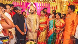Raghu kunche Daughter Raga Wedding Photos