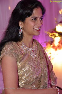Vishnu Shweta Wedding Reception