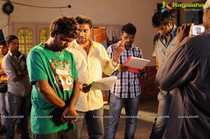 Athadu Aame O Scooter Shooting Spot