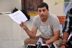 Ramayya Vasthavayya Piracy Press Meet