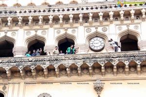 Akshay Kumar at Charminar, Hyderabad