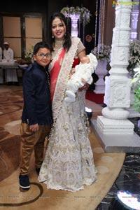 Meenakshi Jewellers Nitin Agarwal's Son Sumay Agarwal Cradle Ceremony