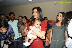 Namrata Shirodkar visits Heal A Child