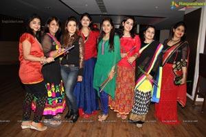 Pink Ladies Club Dandiya 2013