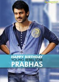 Prabhas Birthday Posters