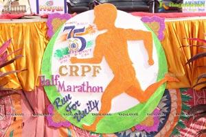 CRPF Half Marathon Hyderabad