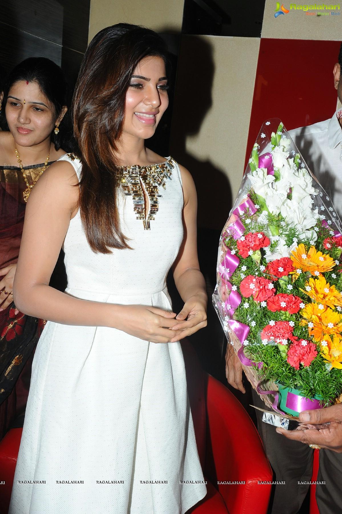 Samantha at Asian Cinemas Launch at Attapur, Hyderabad