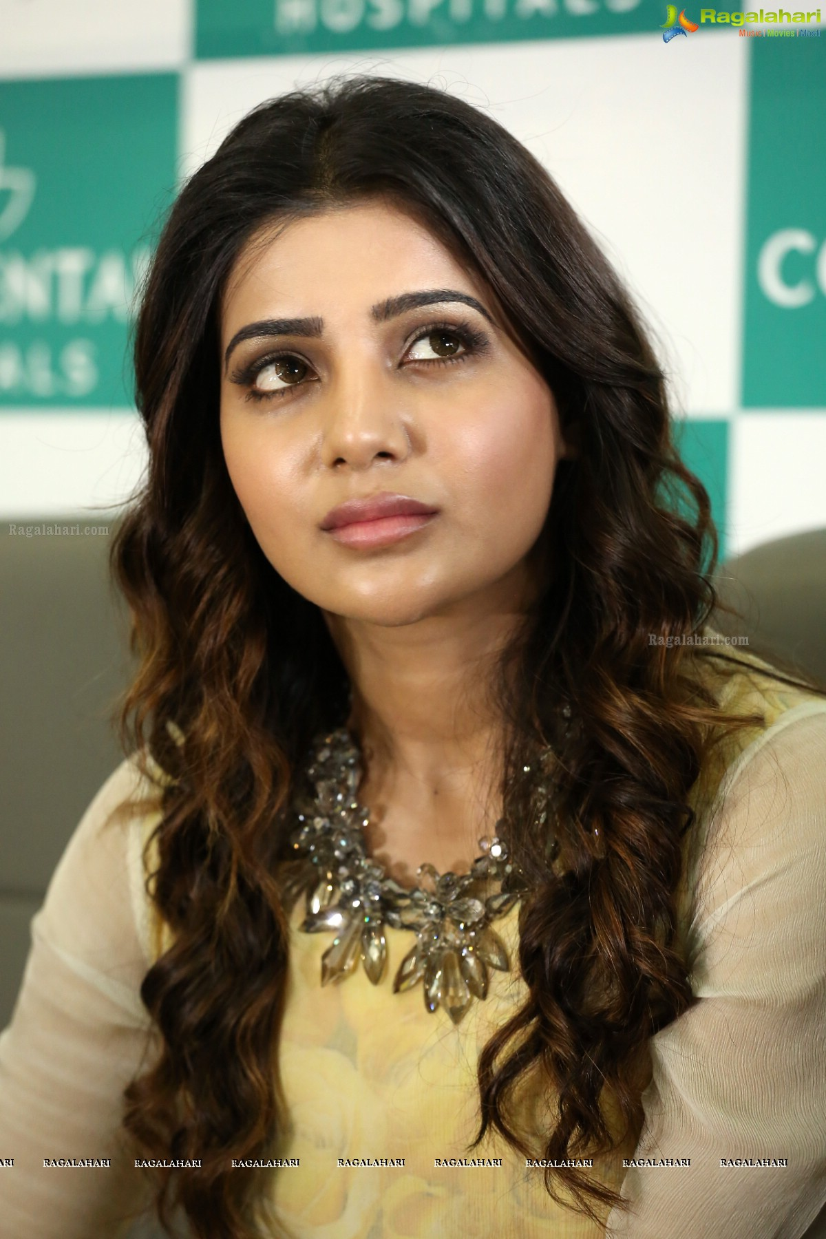 Samantha at Continental Hospitals, Hyderabad