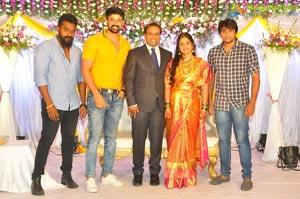 Comedian Harish Wedding Reception