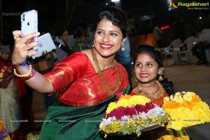 Bathukamma Celebrations Organised by Deepthi Mamidi