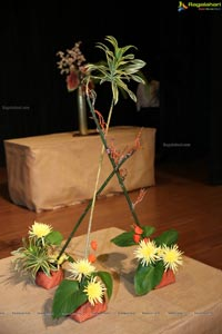 Ikebana Demonstration by Ikebana International