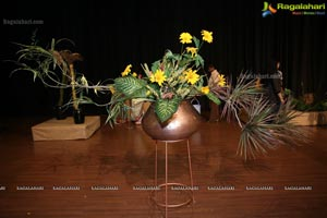 Ikebana Demonstration by Ikebana International