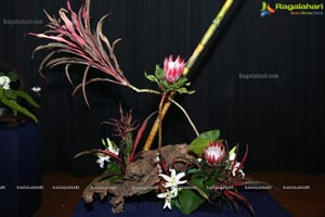 Ikebana Demonstration 2018 by Ho-Ren Sharda Reddy