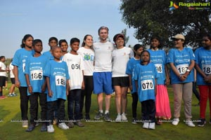 Charity Run/Press Conference by (ISPAD)