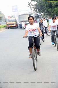 Green Ride - Cycle Ride By Miss Hyderabad Finalists