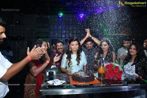 Actress Veena Vijendar Birthday Party at Hilife