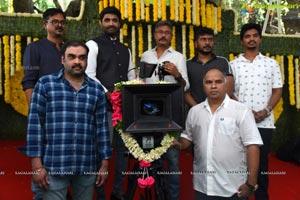 Gopichand-Tamannaah-Sampath Nandi Film Muhurat
