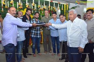 Naga Shaurya-Santhossh Jagarlapudi-SVC Film Muhurat