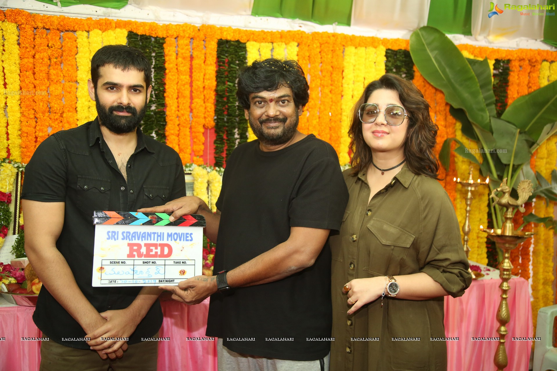 Ram Pothineni's Red Muhurat