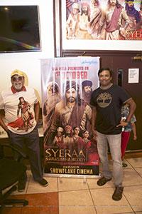 Sye Raa Narasimha Reddy Premiere Atlanta Hungama