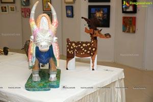 Paintings & Sculptures Art Show of Bindhu