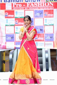 Bathukamma Celebrations and Fashion Show at Tourism Plaza