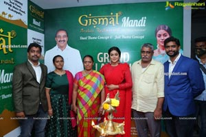 Gismat Mandi Arabic Restaurant Launch by Poorna at KPHB