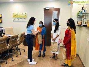 Tamannaah thanks Continental Hospitals