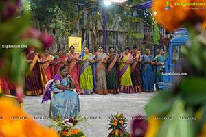 Saddula Bathukamma Festival Celebrations 2021 at Kukatpally